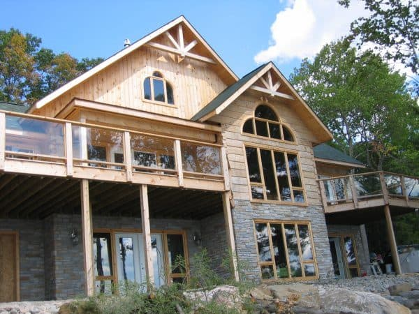 School is back in, that means it's time to learn….about log homes!