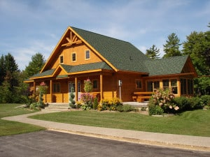 Confederation Log Home and Timber Frame Model Home