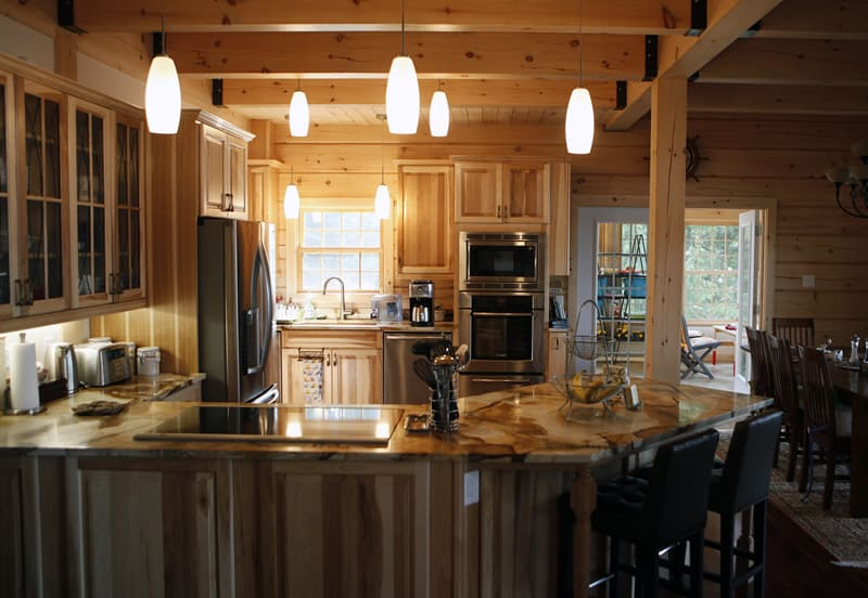 Top 6 Log Home Kitchen Trends For 2016 Confederation