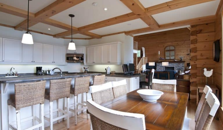 Top 6 Log Home Kitchen Trends for 2021