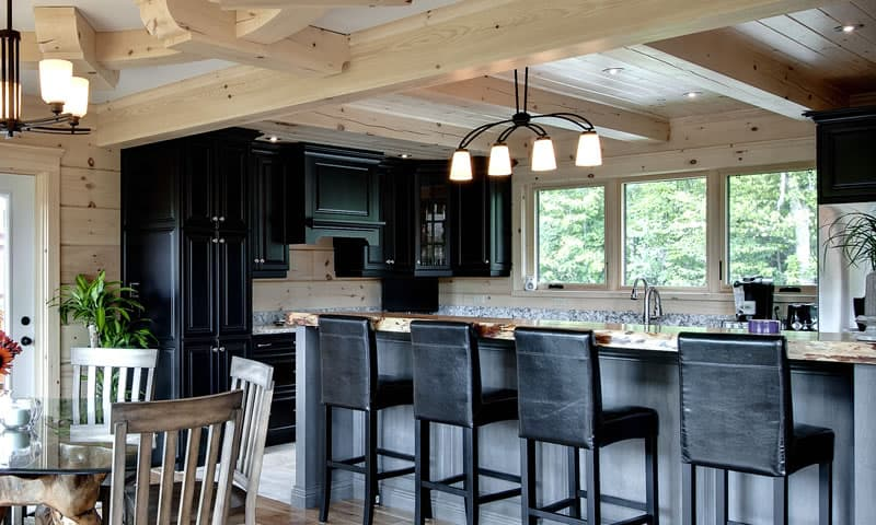 Find Your Style Options For Your Log Or Timber Frame Home