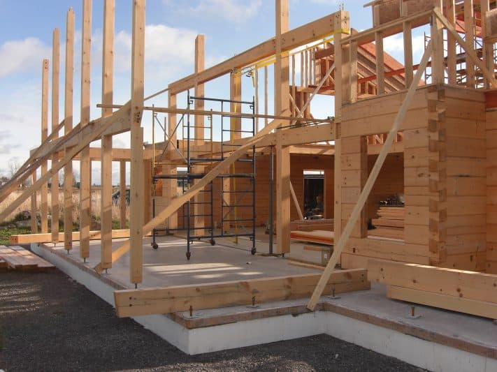Building your own log home is diy for you for Building your own home in colorado