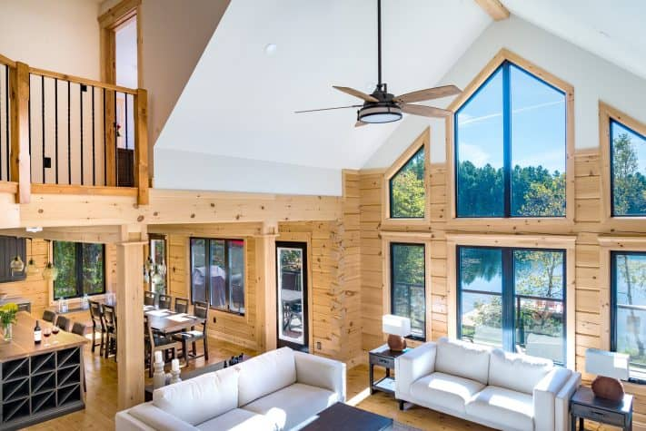 When Rustic Meets Modern | Confederation Log & Timber Frame on home stairway designs, home loft designs, home study designs, home man cave designs, home office designs, home fireplace designs, home walk in shower designs, home workshop designs, home foyer designs, home business designs, home deck designs, home porch designs, home entrance way designs, home bar designs, home garage designs, home studio designs, home patio designs, home pantry designs, home library designs, home great room designs,