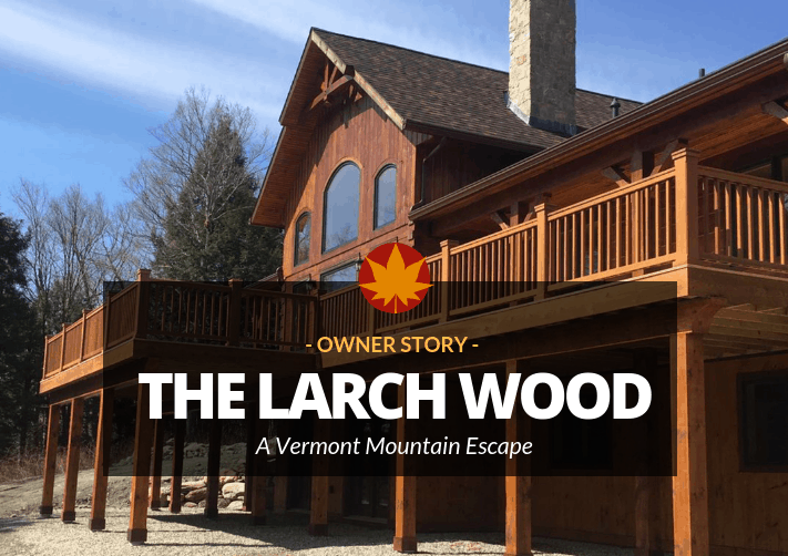 Vermont Mountain Escape Three Countries One Cozy Log Home