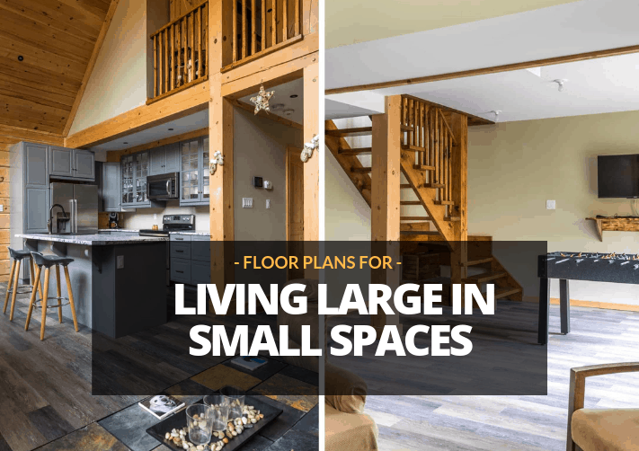 Small Cabin Plans: Living Large in Small Spaces | Confederation ...