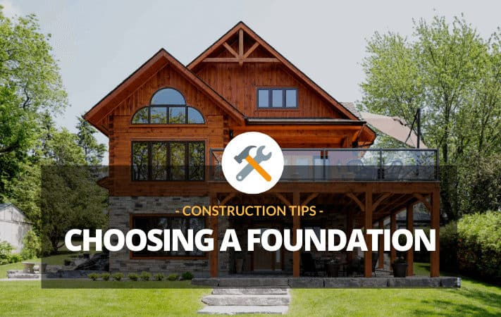 Log Home Foundation Options: Take Your Pick
