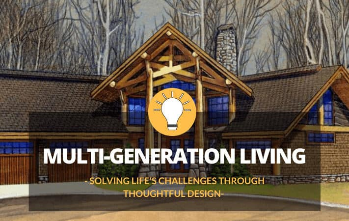 A Log Home For The Whole Family: Solving Life's Challenges Through Thoughtful Design